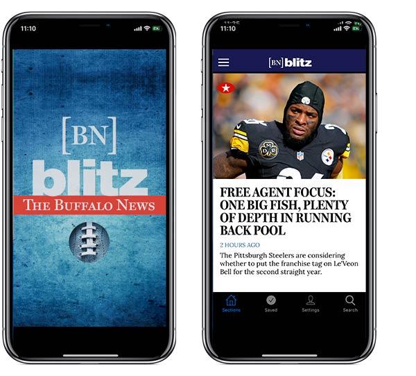 Buffalo News [BN] Blitz App for iPad, iPhone, Android